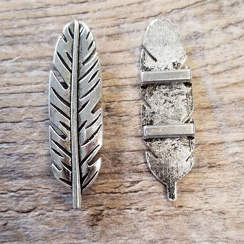 Feather Slide Charm