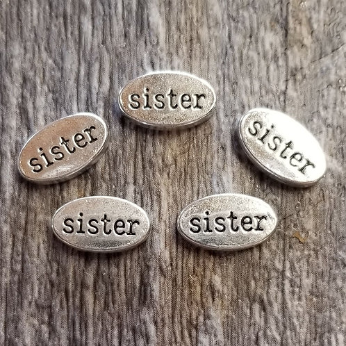 Sister Spacer Charm (5)