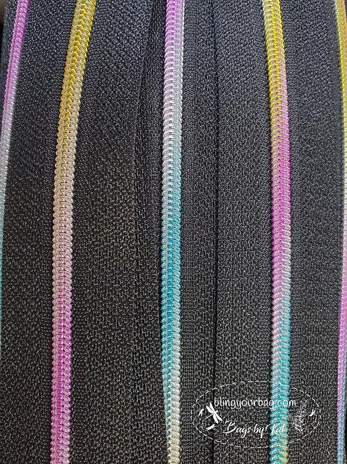 Rainbow #3 Nylon Zipper Tape (5 yards)