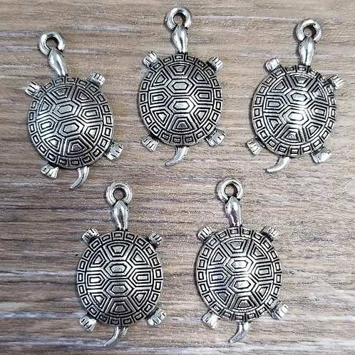 Tortoise Charms (5)
