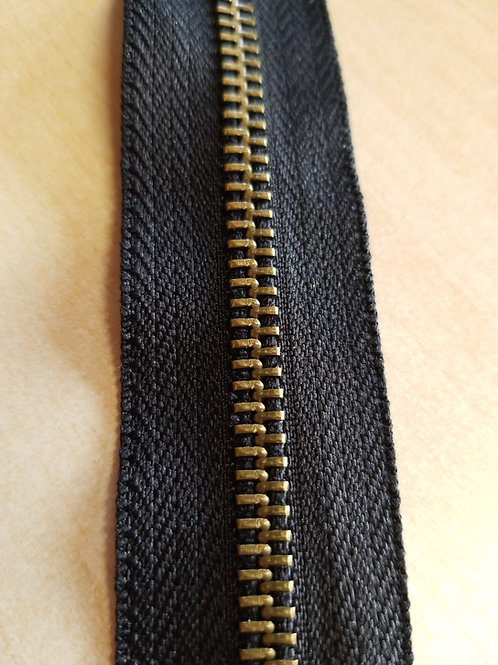 "Metal ""Y"" Zipper Tape - 2 Way"