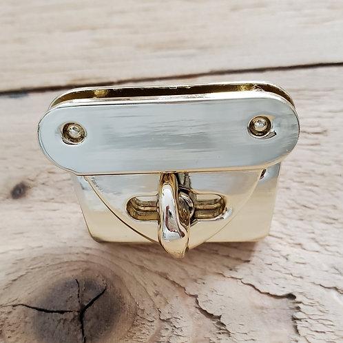 Light Gold Turn Lock