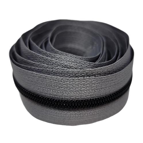 Gray #3 Nylon Zipper Tape