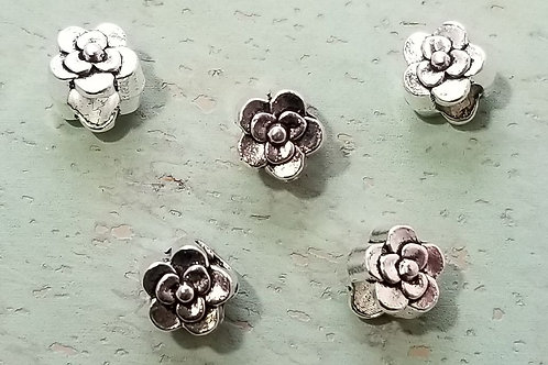 5 mm Rose Cord Bead (5)