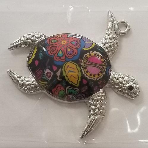 Turtle Enamel Charm