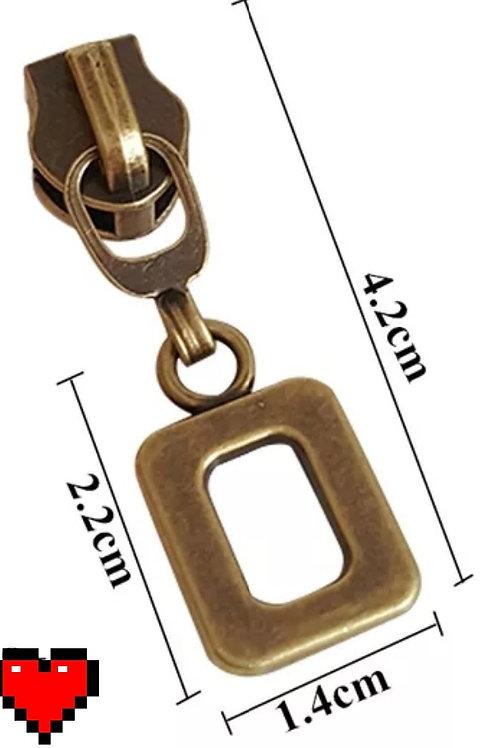 All Square Zipper Pulls #5 (Set of 10)