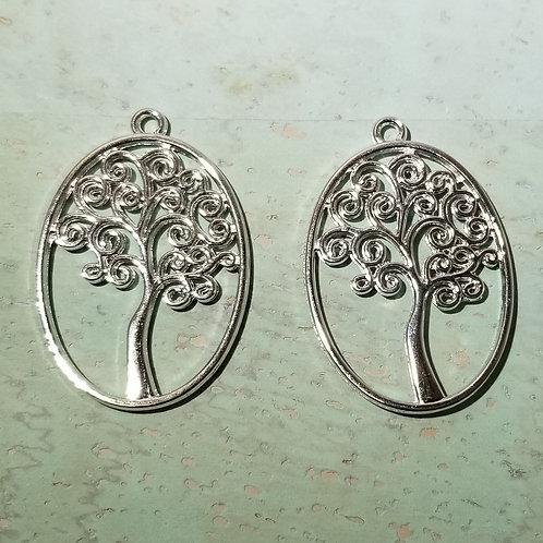 Tree Charm Pendant