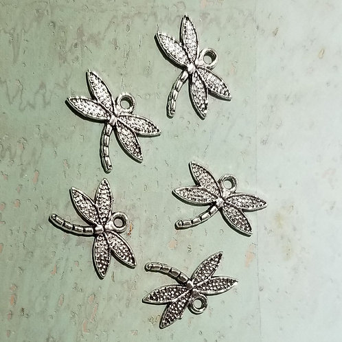 Small Dragon Fly Charm (5)