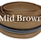 Thumbnail: Medium Brown #5 Nylon Zipper Tape