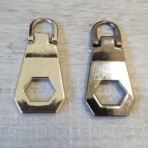 DIY Hex Zipper Puller (each)