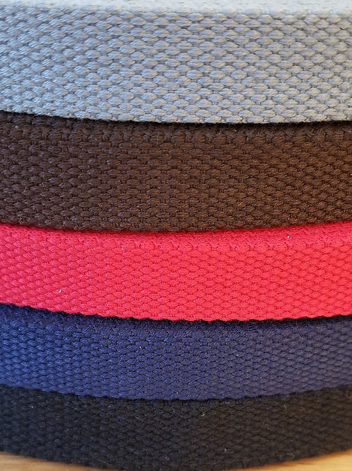 3/4 Inch Cotton Webbing