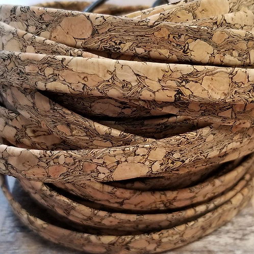 10 mm Flat Cork Cording