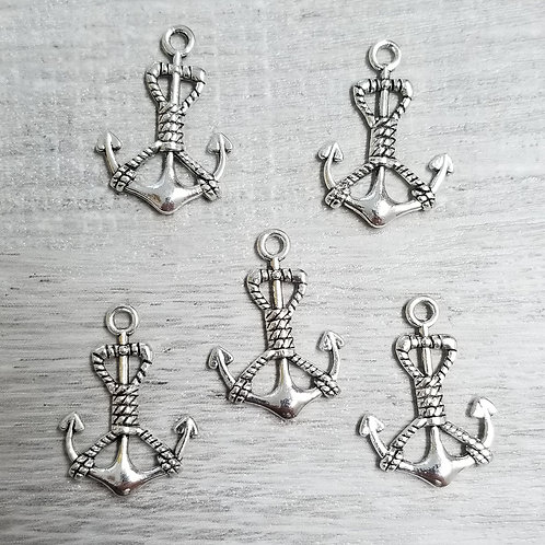 Rope Anchor Charms (5)