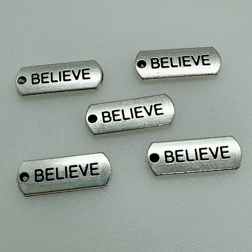 Believe Word Charm (5)