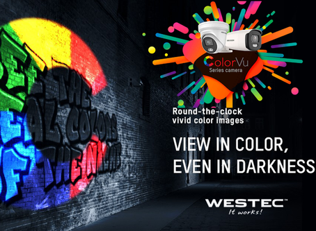 ColorVu 24/7 Colorful Imaging— View in Color, Even in Darkness