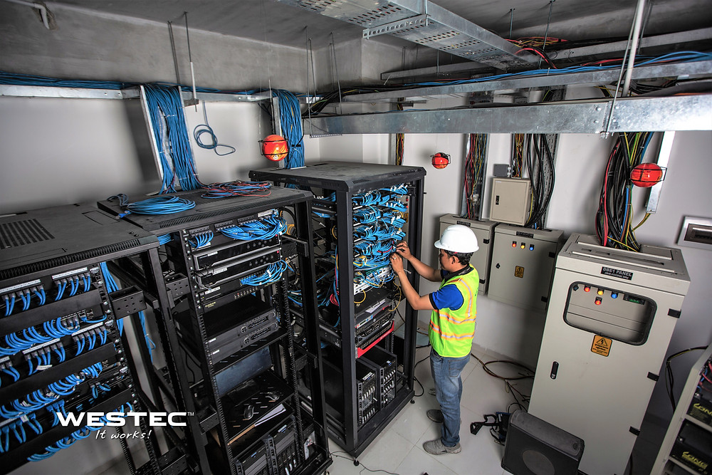 Server Room Maintenance | Westec Cambodia