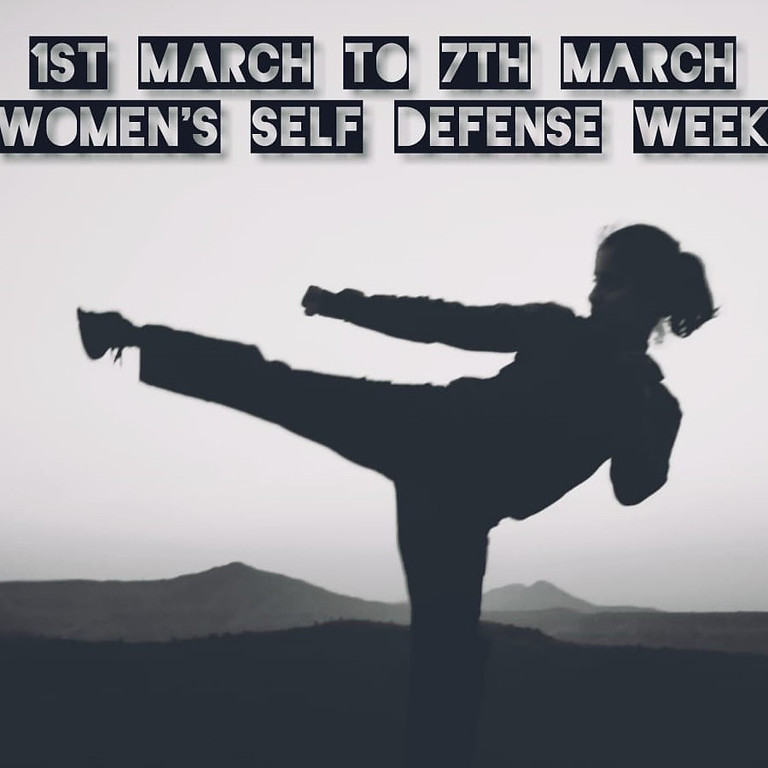 Free Self Defence Workshop (Women's Day Special)