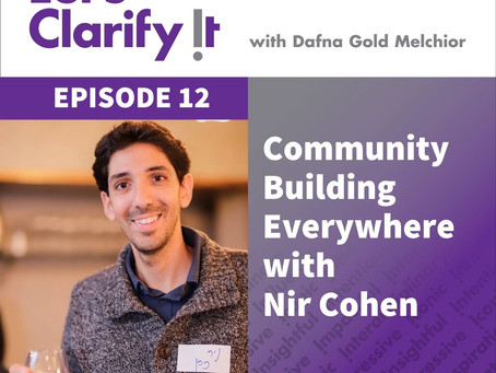 Community Building Everywhere with Nir Cohen