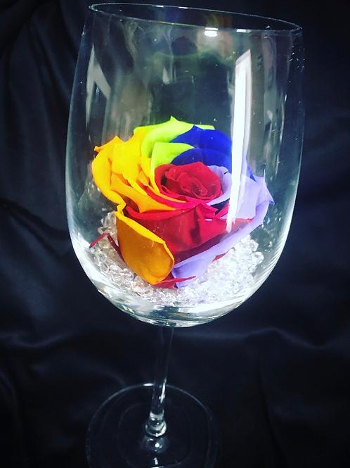 Rainbow Eternity Rose