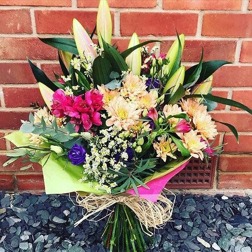 Seasonal Handtied Bouquet