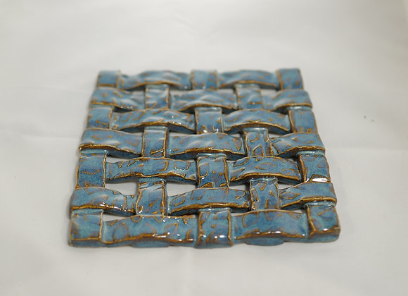 Fire Clay Pottery:#42 - Weaved Trivet