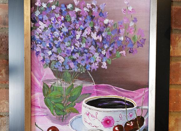 Kathy Fyfe Artwork : Coffee Time