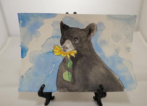 Melanie Fyfe-Baarda : Bear with Daisy