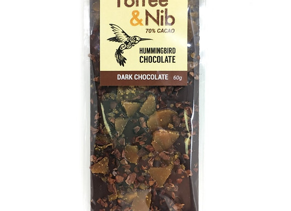 Hummingbird Chocolate: Toffee Nib
