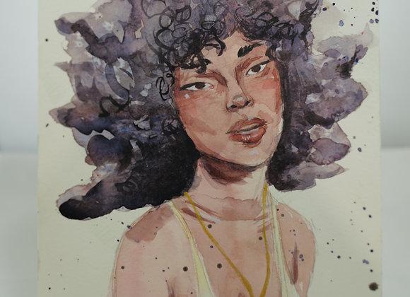 Melanie Fyfe-Baarda: Curly Hair