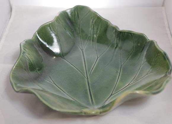 Fire Clay Pottery: #57 - Rhubarb Leaf
