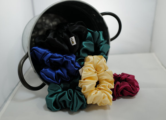 BMasked: Satin Scrunchies
