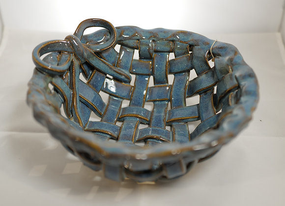 Fire Clay Pottery: #115 - Weaved Bowl