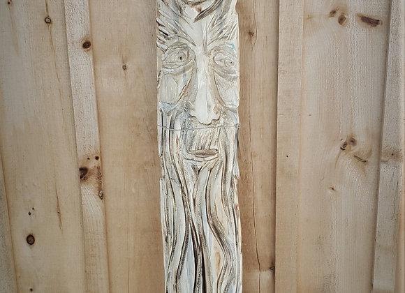 The Mindful Carver: Wood Spirit Wall Hanger