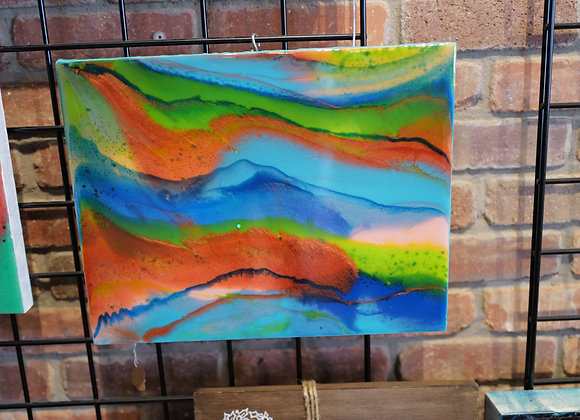 Kathy Fyfe Artwork: Mystic Waters Wall Art