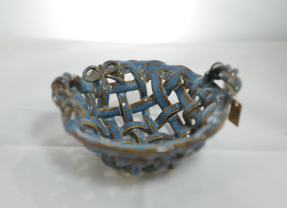 Fire Clay Pottery: #116 - Weaved Bowl