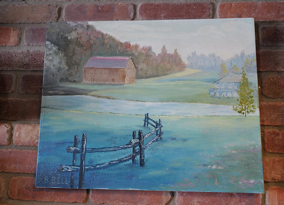 Pompa's Paintings : Green Valley Farm