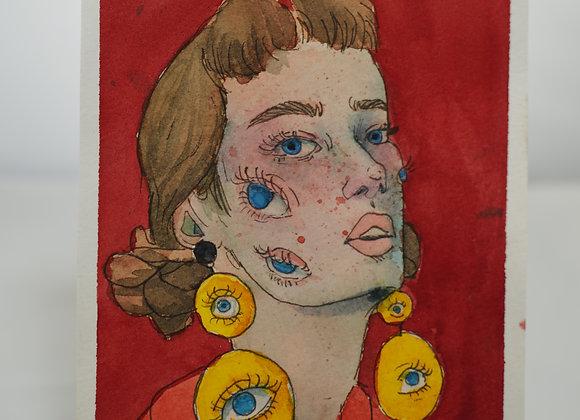 Melanie Fyfe-Baarda : Eyes and Earrings