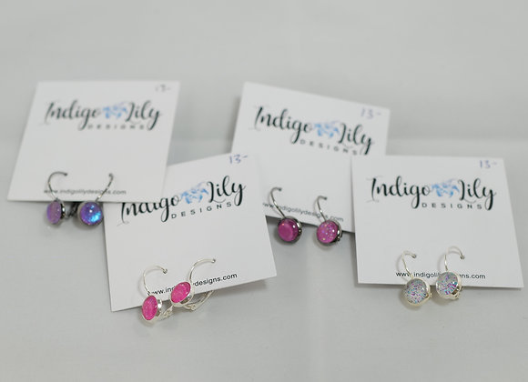 Indigo Lily: Small Dangly Earring