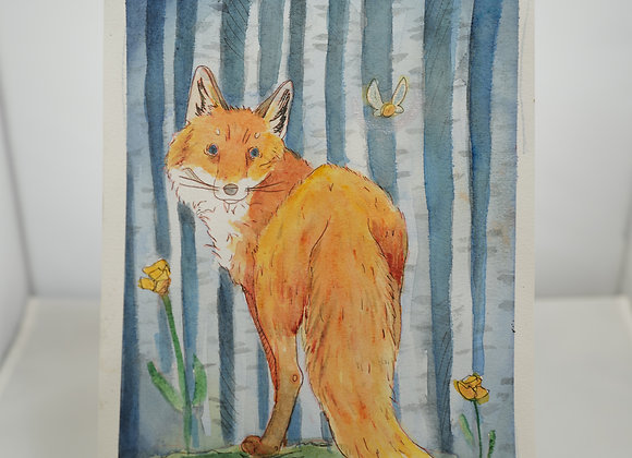Melanie Fyfe-Baarda : Fox in the Woods
