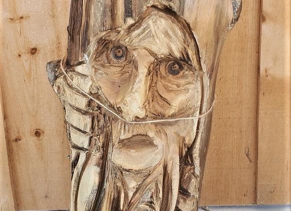 The Mindful Carver: Wood Spirit Stump