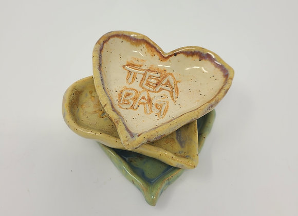 March Meadow: Tea Bag Dish- Set of 3