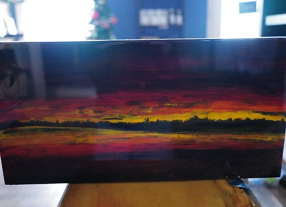 Kathy Fyfe Artwork : Fire in the Sky