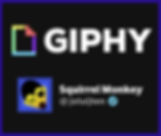 Giphy and Squirrel Monkey