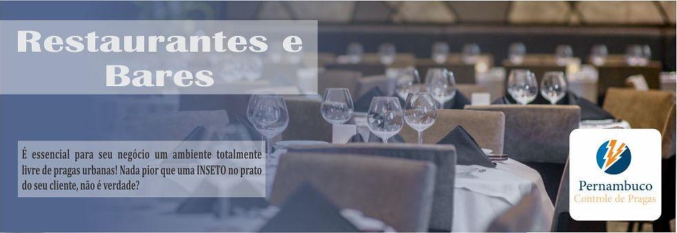 Dedetização em Restaurante