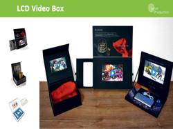 LCD video boxy