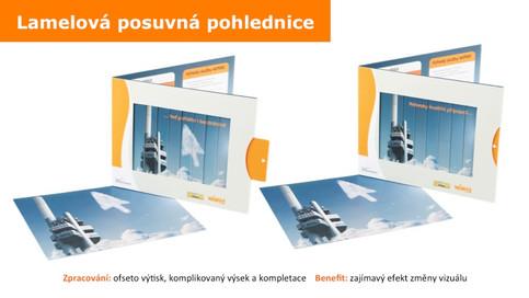 Šoupací pohlednice