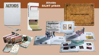 Altoids - sada materiálů