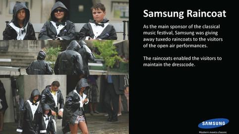 Samsung - pláštěnka