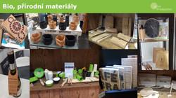 Bio přírodní materiály v reklamě