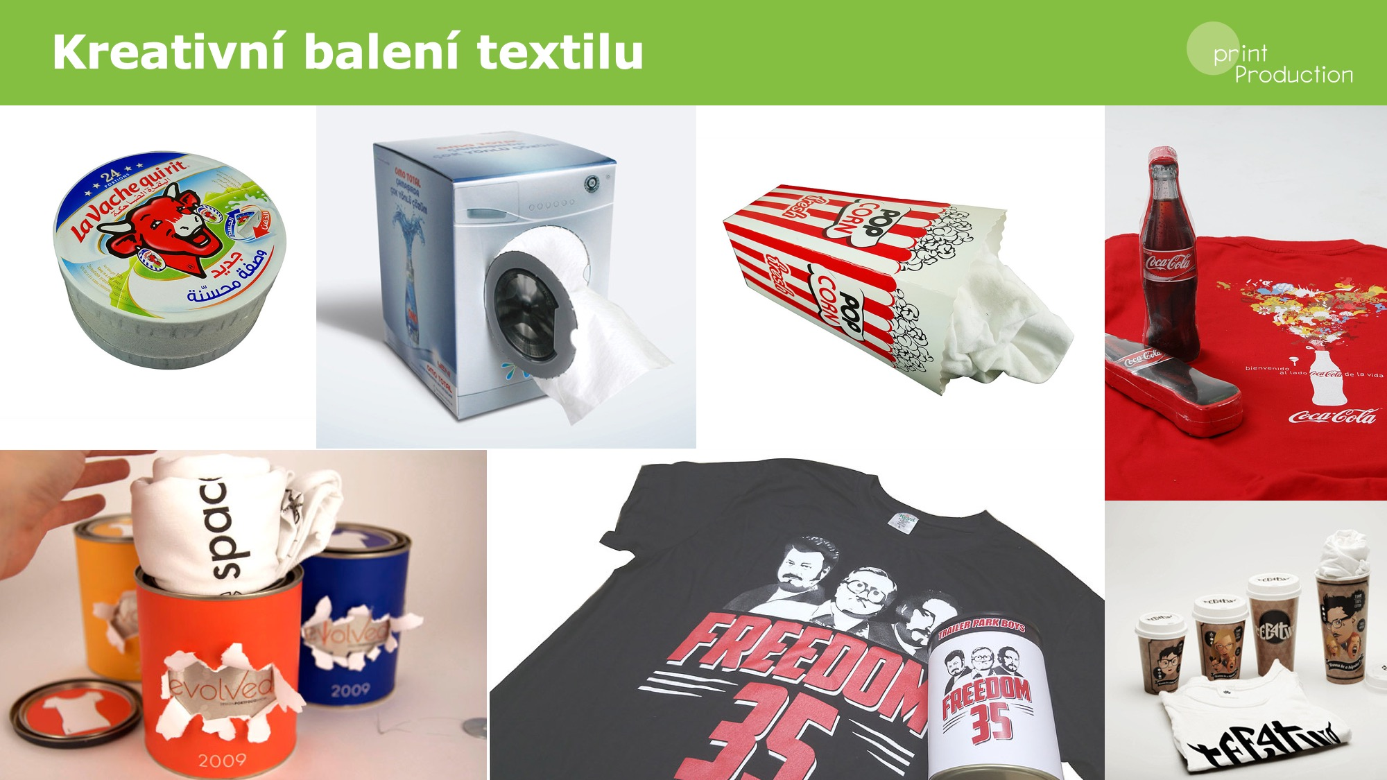 Kreativní balení textilu